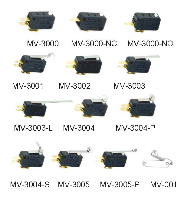 MV Series Micro Switches